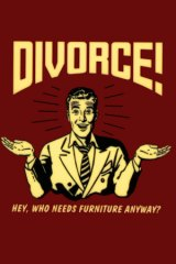 divorce furntiture